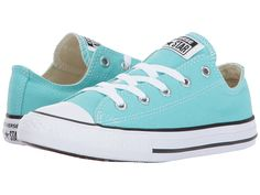 a9ce2931205f8d Converse Kids Chuck Taylor All Star Ox (Little Kid) Girl s Shoes Light Aqua
