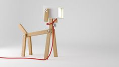 I've created my own LUMINOSE dog lamp! Visit the page, and you can be the designer of your own!