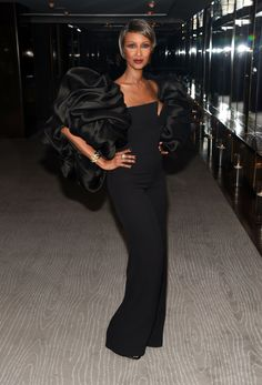 Iman at the Glamour Women of the Year Awards. [Photo: Steve Eichner]