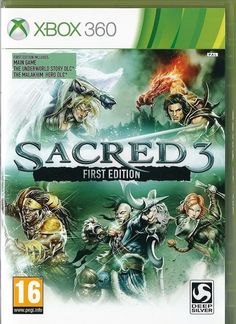 Xbox 360 Sacred 3 -- First Edition  ( Xbox One compatible)