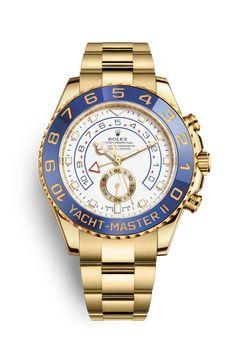 Rolex Yacht-Master II Watch: 18 ct yellow gold - 116688