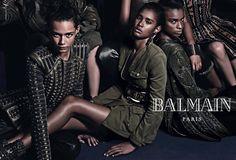 snapshot-balmain-fall-2014-ad-cara-delevingne3  L'Entre-Deux by FASHIZBLACK.com