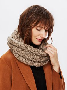 Shop Crochet Delicate Infinity Scarf online. SheIn offers Crochet Delicate Infinity Scarf & more to fit your fashionable needs.
