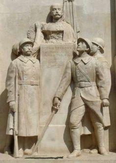 Albert Bartholomé : Monument aux morts. Montorison. Loire