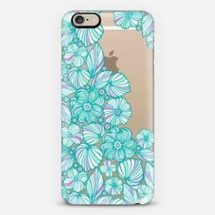 Turquoise flowers