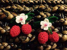 Cutie Hair Cherries Bow  $1.50 per each