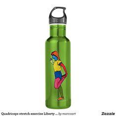 Your Custom Water Bottle (24 oz), Apple