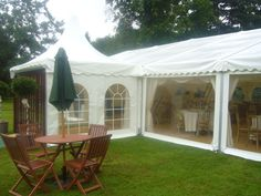 Side doors and windows - #marqueehireuk #marqueehire #Notts #Derby #Leicester #weddings #corporate #events