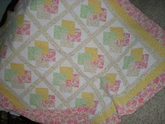 Kristyn's quilt. Made by Cheryl Astern email: Cheryl@skrunchbucket.com