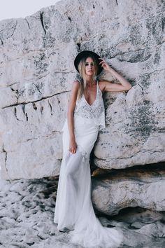 Robes de mariée - Manon Gontero - Collection 2017 | Photographe : Soul Pics | Donne-moi ta main - Blog mariage