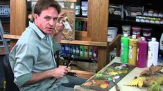 Learn to Paint with Rudy Kistler: Autumn Leaves Part 2 - Imaginary Lands...