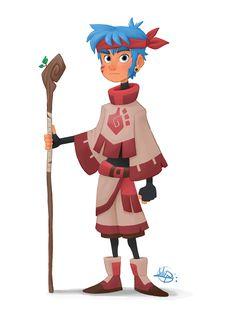 LuigiL, Tribal Guy