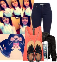 """""""Hai c:"""" by official-trill-chicks ❤ liked on Polyvore"""