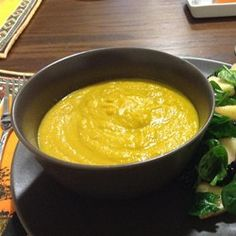 Roasted Carrot and Cauliflower Curried Soup - Allrecipes.com