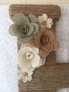 A personal favorite from my Etsy shop https://www.etsy.com/listing/249503644/burlap-roses-handmade-choose-color