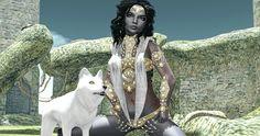 Pumec, White Widow, Jian and N-Uno @ We Love Roleplay Aisling @ Fantasy Gacha Carnival http://thegoodgorean.blogspot.com/2016/02/the-drow-servant.html