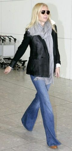 Modern Country Style: Scarves: Gwyneth Paltrow's Style