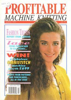 Profitable Machine Knitting Magazine 1992.03 Free PDF Download 300dpi ClearScan OCR