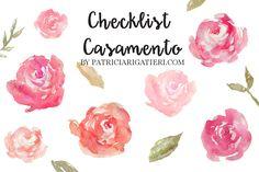 Continuandonossos posts de casamento aqui no blog, hoje venho compartilhar com vocês um checklist básico para o grande dia ser perfeito! Contei com a ajuda da minha assessora, Paula Cavani, da Dan…
