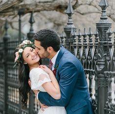 Adorable wedding photo. Wedding photography | city wedding | bride and groom