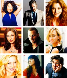 i loved these people, now Lexie, Mark and Teddy are gone.   okay i didn't like teddy as much, but I felt bad when her husband died.