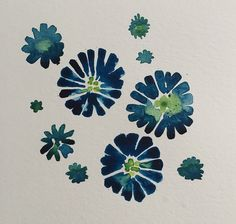 Day 2 of the 100 Day Project #water #color #colour #flowers