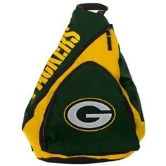 Green Bay Packers Green-Gold Slingback Backpack  @Fanatics ®  #FanaticsWishList