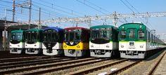 大阪 京阪電車 #Osaka #Japan #traffic Osaka Japan traffic