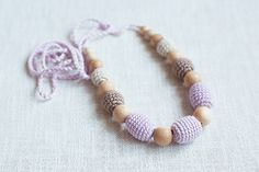 Ecofrienly Teething / Nursing necklace for by NecklacesForMommy, $23.50