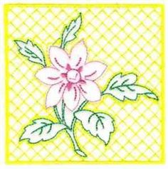DayDream Designs Embroidery Design Pack: Simple Florals