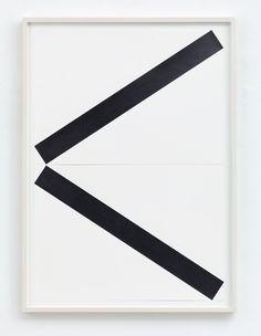 Frank Gerritz, To Drop A Line (Open Form), 2017, Bleistift auf Papier, 2-teilig, jeweils 42 x 58,8 cm