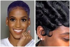 Short Hair Is Life - Hairstyle Compilation - Natural Hair TWA's, Hair Color & Pixies - Black Hair Information Natural Hair Twa, Natural Haircare, Natural Hair Styles, Short Hair Cuts, Short Hair Styles, Split Nails, Natural Gel Nails, Haircut Pictures, Viva Glam