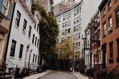 christiescloset: My favorite street in Greenwich village