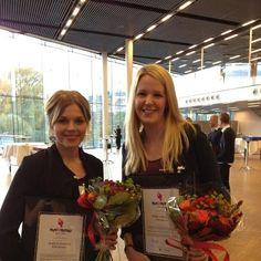 Elin Janum och Malin Hollström prisade