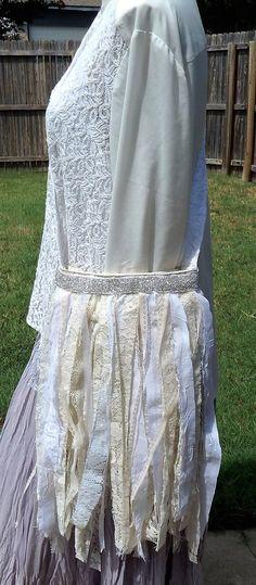 Shabby Chic White and Cream Lacy Handmade Crossbody Bag,  Romantic Sling Bag, Magnolia Pearl Bag, BoHo Bag, Bridal Bag. Purse, Fancy Bag