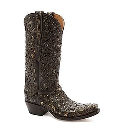 Lucchese Since 1883 Lasercut Boots #Dillards