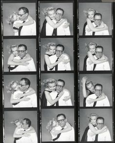 Marilyn and Arthur, 1957. Richard Avedon.