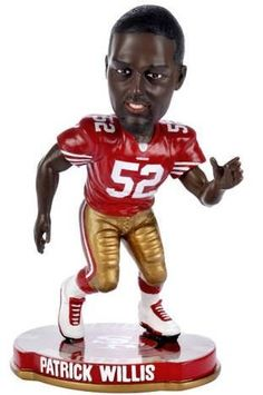 Patrick Willis San Francisco 49ers Pennant Based Player Bobblehead