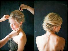 Irrelephant: Hair - Messy French Twist