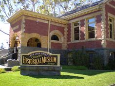 The San Luis Obispo Historical Museum is located in Downtown San Luis Obispo and situated in the original SLO library building. Central California, California Coast, Central Coast, San Luis Obispo, Scenery, Museum, Mansions, House Styles, Building