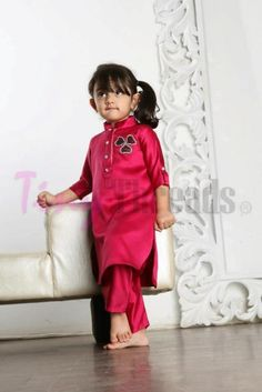 Kurta designs for pakistani kids