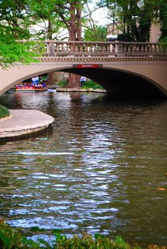 San Antonio Riverwalk.  Basic Training was here,  of course.  But I have been back since.  Amazing food.