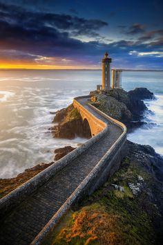 Faro de Le Petit Minou. Bretagne, France.