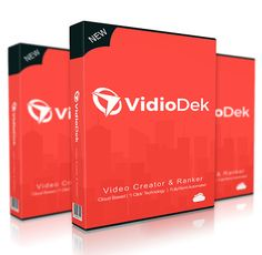 VidioDek, the dual video creator & SEO software system, is launching along with a special training at that exact time so I want to give you the necessary info to take advantage of it.