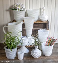 I LOVE Milk Glass!! Collecting White Milk Glass