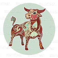 Zodiac signs - Taurus by kess