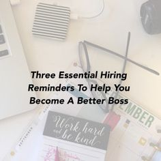 http://www.annesamoilov.com/three-essential-hiring-reminders-to-help-you-become-a-better-boss/ - Considering adding to your team? When is the right time? via @Anne Samoilov