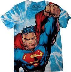 Camiseta de Superman en todas las tallas