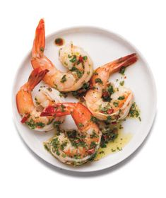 Serve the cooked shrimp with a tongue-tingling no-cook chili sauce. Get the recipe for Shrimp Cocktail With Herb-Chili Sauce.