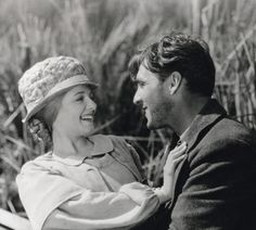 """Janet Gaynor and George O'Brien (Sunrise: A Song of Two Humans"""")"""